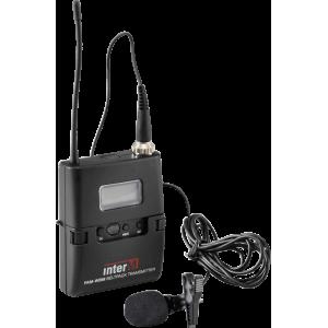 PAM-WBM поясной радиопередатчик с петличным микрофоном