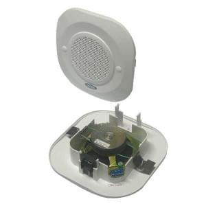 Блюз РОП-3ПП (пластик)3Вт, 30В потолочный речевой оповещатель с контролем линии