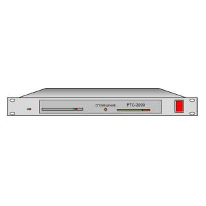 РТС-2000 OK-ЗПР/IP оконечный комплект трехпрограммного вещания с двумя встроенными приемными IP модулями