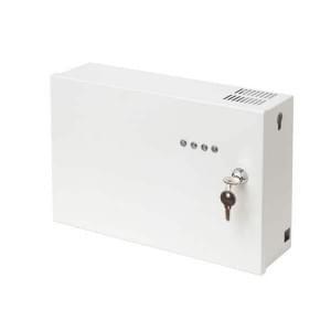 Октава-100Ц прибор управления оповещением, 1 зона оповещения, 80Вт, 100В/30В, отсек под АКБ 2х7А/ч