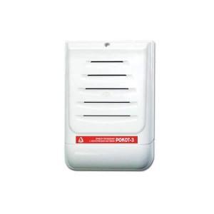 РОКОТ-3 Прибор управления оповещением со встроенной акустической системой, 12В, 3Вт