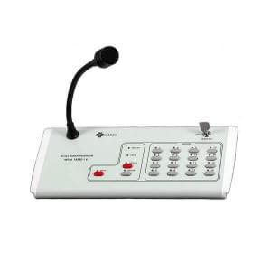 МЕТА 18580-16 Пульт управления микрофонный на 16 зоны