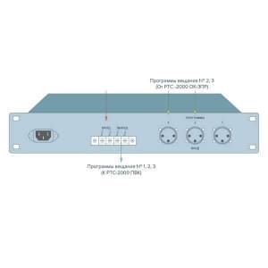 РТС-2000 ПТПВ передатчик трёхпрограммного радиовещания